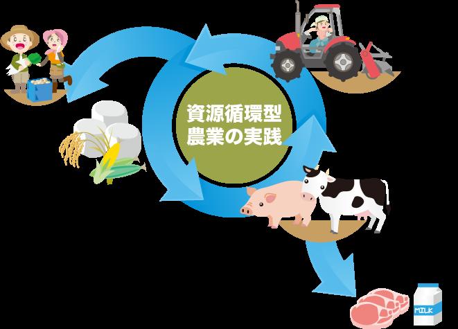 循環型の図